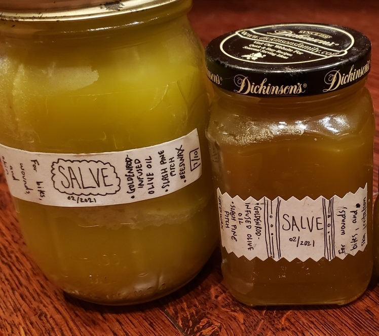 Pine Pitch Salve (Herbally-Infused)